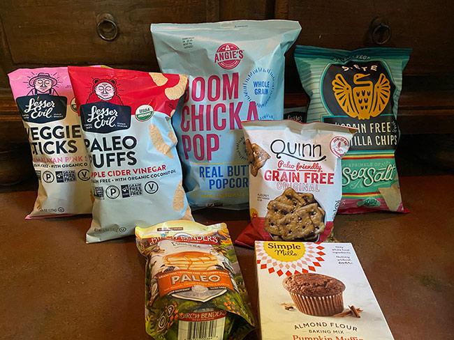 healthier junk foods