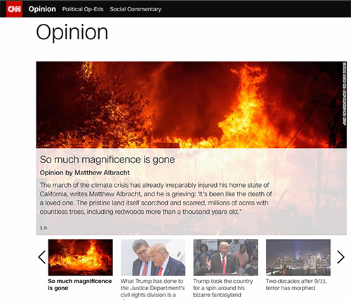 CNN Article page