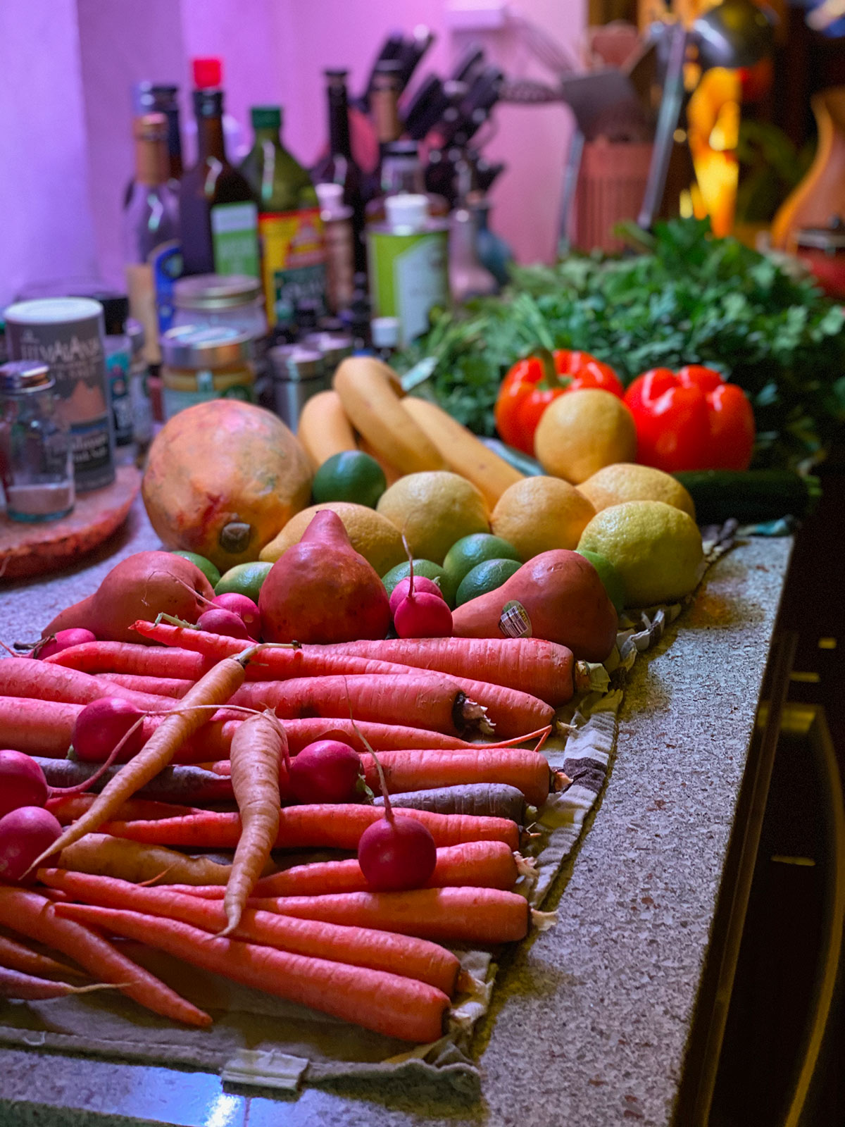 Vegetables and fruit photo